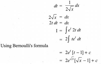 Samacheer Kalvi 11th Maths Solutions Chapter 11 Integral Calculus Ex 11.13 47