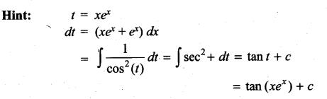Samacheer Kalvi 11th Maths Solutions Chapter 11 Integral Calculus Ex 11.13 9