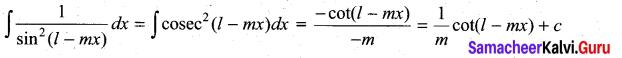 Samacheer Kalvi 11th Maths Solutions Chapter 11 Integral Calculus Ex 11.2 15