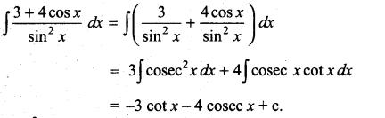 Samacheer Kalvi 11th Maths Solutions Chapter 11 Integral Calculus Ex 11.5 7