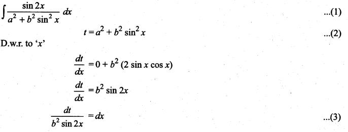 Samacheer Kalvi 11th Maths Solutions Chapter 11 Integral Calculus Ex 11.6 12