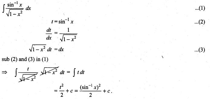 Samacheer Kalvi 11th Maths Solutions Chapter 11 Integral Calculus Ex 11.6 15