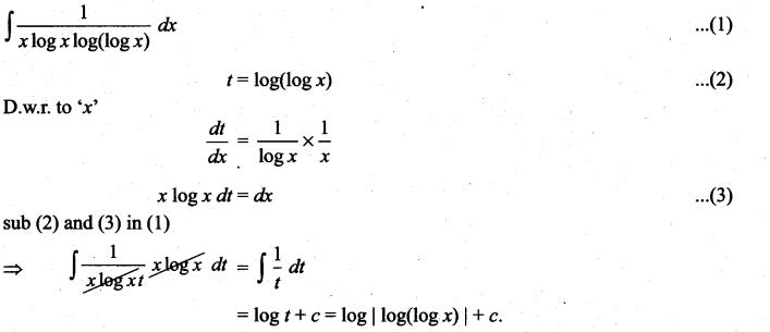 Samacheer Kalvi 11th Maths Solutions Chapter 11 Integral Calculus Ex 11.6 18