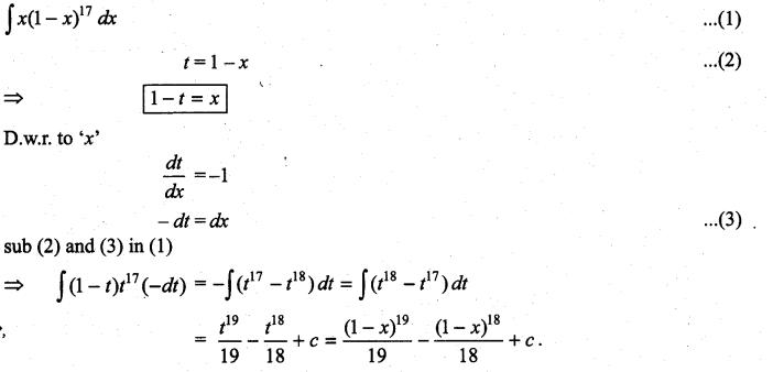Samacheer Kalvi 11th Maths Solutions Chapter 11 Integral Calculus Ex 11.6 22