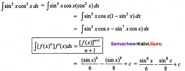 Samacheer Kalvi 11th Maths Solutions Chapter 11 Integral Calculus Ex 11.6 23