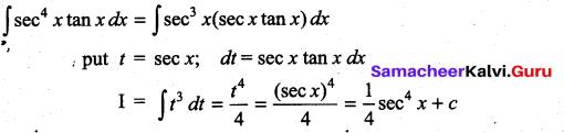 Samacheer Kalvi 11th Maths Solutions Chapter 11 Integral Calculus Ex 11.6 27