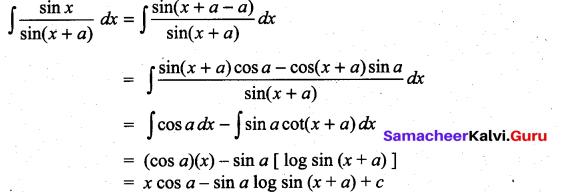 Samacheer Kalvi 11th Maths Solutions Chapter 11 Integral Calculus Ex 11.6 28