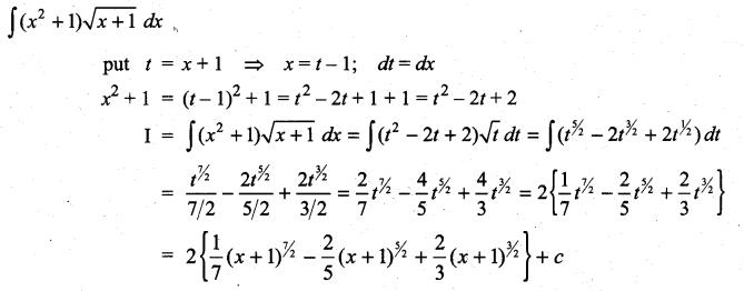 Samacheer Kalvi 11th Maths Solutions Chapter 11 Integral Calculus Ex 11.6 35