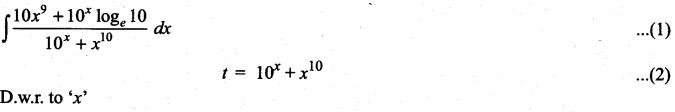 Samacheer Kalvi 11th Maths Solutions Chapter 11 Integral Calculus Ex 11.6 5