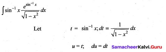 Samacheer Kalvi 11th Maths Solutions Chapter 11 Integral Calculus Ex 11.7 17