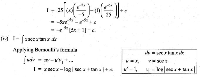 Samacheer Kalvi 11th Maths Solutions Chapter 11 Integral Calculus Ex 11.7 3