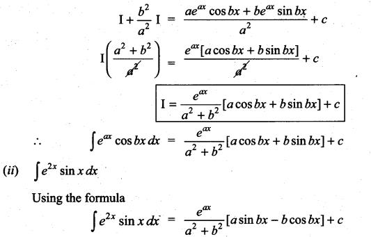 Samacheer Kalvi 11th Maths Solutions Chapter 11 Integral Calculus Ex 11.8 2