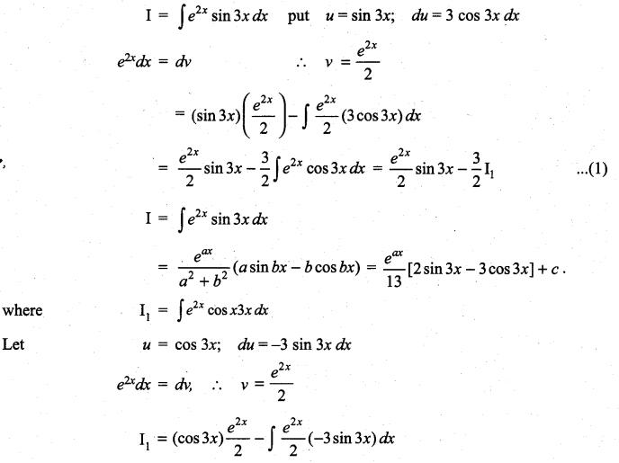 Samacheer Kalvi 11th Maths Solutions Chapter 11 Integral Calculus Ex 11.8 6