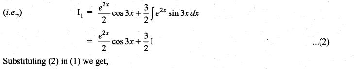 Samacheer Kalvi 11th Maths Solutions Chapter 11 Integral Calculus Ex 11.8 7