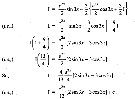 Samacheer Kalvi 11th Maths Solutions Chapter 11 Integral Calculus Ex 11.8 8