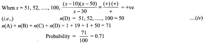 Samacheer Kalvi 11th Maths Solutions Chapter 12 Introduction to Probability Theory Ex 12.5 22