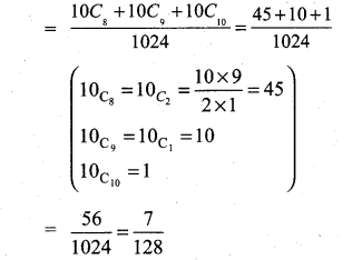 Samacheer Kalvi 11th Maths Solutions Chapter 12 Introduction to Probability Theory Ex 12.5 33