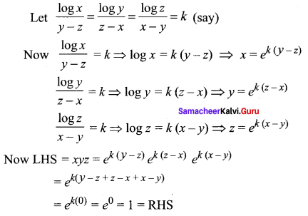 Samacheer Kalvi 11th Maths Solutions Chapter 2 Basic Algebra Ex 2.12 19