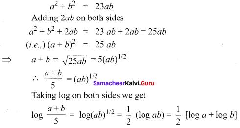 Samacheer Kalvi 11th Maths Solutions Chapter 2 Basic Algebra Ex 2.12 29