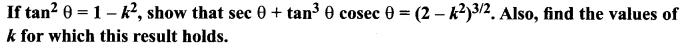 11th Maths 3rd Chapter Solutions Trigonometry Ex 3.1 Samacheer Kalvi