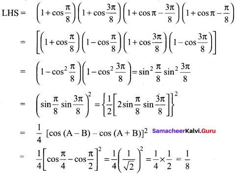 Samacheer Kalvi 11th Maths Solutions Chapter 3 Trigonometry Ex 3.12 26