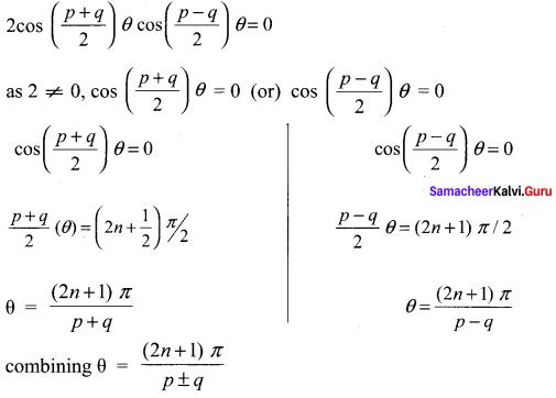 Samacheer Kalvi 11th Maths Solutions Chapter 3 Trigonometry Ex 3.12 64