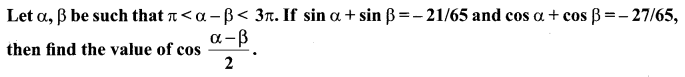 Samacheer Kalvi 11th Maths Solutions Chapter 3 Trigonometry Ex 3.2 65
