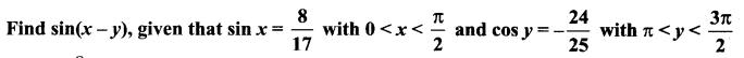 Samacheer Kalvi Class 11 Maths Solutions Chapter 3 Trigonometry Ex 3.4