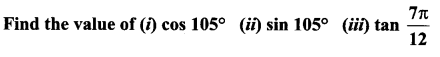Samacheer Kalvi 11th Maths Solutions Chapter 3 Trigonometry Ex 3.4