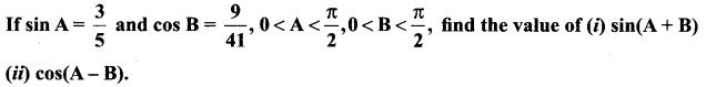 11 Maths Samacheer Solution Chapter 3 Trigonometry Ex 3.4