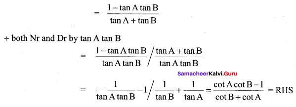 Samacheer Kalvi 11th Maths Solutions Chapter 3 Trigonometry Ex 3.4 75