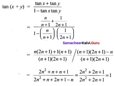 Samacheer Kalvi 11th Maths Solutions Chapter 3 Trigonometry Ex 3.4 77