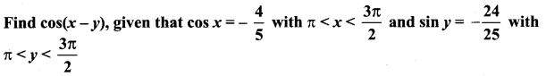 Samacheer Kalvi Guru 11th Maths Solution Chapter 3 Trigonometry Ex 3.4