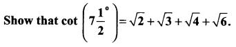 Samacheer Kalvi 11th Maths Solutions Chapter 3 Trigonometry Ex 3.5 27