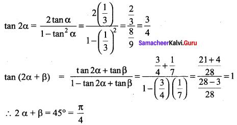 Samacheer Kalvi 11th Maths Solutions Chapter 3 Trigonometry Ex 3.5 35