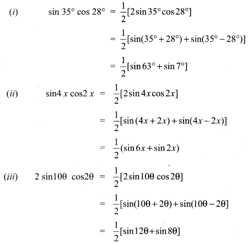 Samacheer Kalvi 11th Maths Solutions Chapter 3 Trigonometry Ex 3.6 1