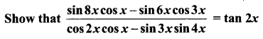 Samacheer Kalvi 11th Maths Solutions Chapter 3 Trigonometry Ex 3.6 11