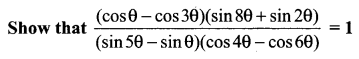 Samacheer Kalvi 11th Maths Solutions Chapter 3 Trigonometry Ex 3.6 15