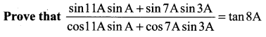Samacheer Kalvi 11th Maths Solutions Chapter 3 Trigonometry Ex 3.6 59