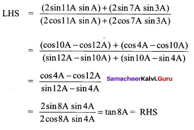Samacheer Kalvi 11th Maths Solutions Chapter 3 Trigonometry Ex 3.6 60
