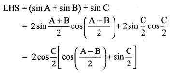 Samacheer Kalvi 11th Maths Solutions Chapter 3 Trigonometry Ex 3.7 9