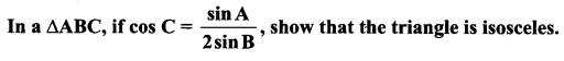 Samacheer Kalvi 11th Maths Solutions Chapter 3 Trigonometry Ex 3.9 6