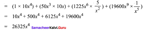 Samacheer Kalvi 11th Maths Solutions Chapter 5 Binomial Theorem, Sequences and Series Ex 5.1 11111