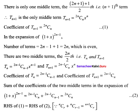 Samacheer Kalvi 11th Maths Solutions Chapter 5 Binomial Theorem, Sequences and Series Ex 5.1 128