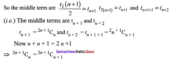 Samacheer Kalvi 11th Maths Solutions Chapter 5 Binomial Theorem, Sequences and Series Ex 5.1 16