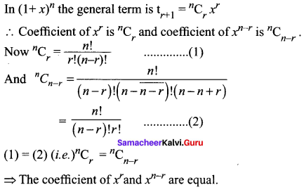 Samacheer Kalvi 11th Maths Solutions Chapter 5 Binomial Theorem, Sequences and Series Ex 5.1 17