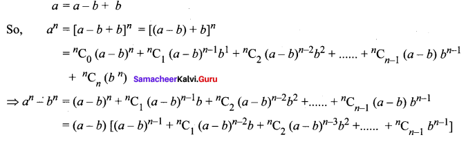 Samacheer Kalvi 11th Maths Solutions Chapter 5 Binomial Theorem, Sequences and Series Ex 5.1 18