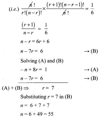 Samacheer Kalvi 11th Maths Solutions Chapter 5 Binomial Theorem, Sequences and Series Ex 5.1 51