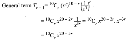 Class 11 Maths Chapter 5 Exercise 5.1 Samacheer Kalvi Solutions Binomial Theorem, Sequences And Series