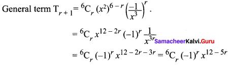 Class 11 Chapter 5 Maths Samacheer Kalvi Solutions Binomial Theorem, Sequences And Series Ex 5.1